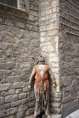 Medieval prisoner