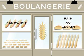 Boulangerie (vecteur)