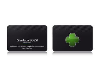 Business Card Quadrifoglio
