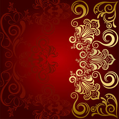 Abstract Luxury Red Background