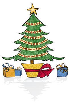 Whimsical Holiday Tree