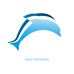 logo entreprise, dauphin
