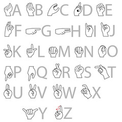 finger-alphabet