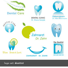 9 dentist logos