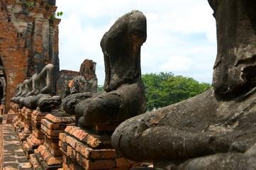 Wat Chai Wattanaram , The world heritage in Ayutthaya, Thailand