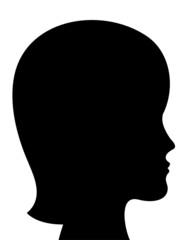Женский профиль