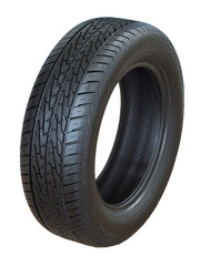 Isolated image of an all weather radial tIre
