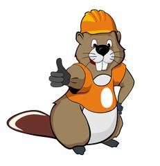 beaver OK (orange)