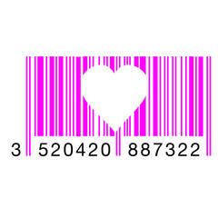Code Barre Coeur