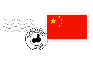 Timbre Chine