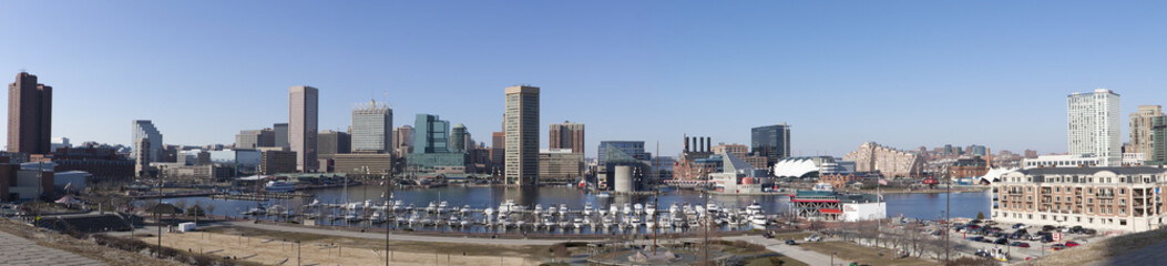 Baltimore, Maryland panorama