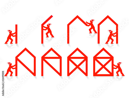 Das Ist Das Haus Vom Nikolaus Stock Image And Royalty Free Vector
