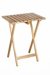 Mesa portátil de madera