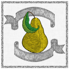 pear and banners