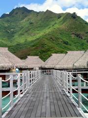 Bungalows en  Polinesia