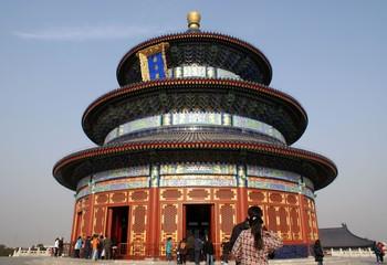 Fotobehang Beijing Himmelstempel