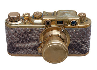 Exclusive german(WW2 period) camera. Clipping path incl.