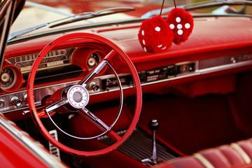 Acrylic Prints Old cars vintage car