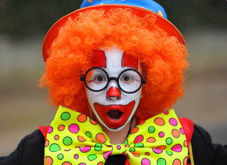 enfant clown