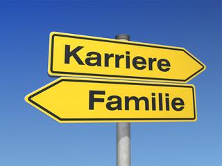 Familie oder Karriere?