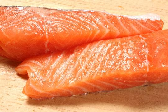 pavet de saumon frais