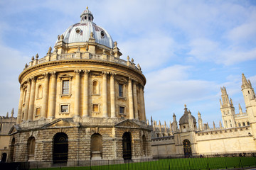 Radcliffe Camera and All Souls College, Oxford, England