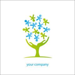 logo entreprise, association