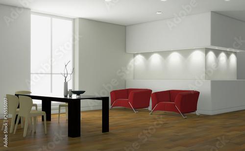 Stanza vuota da arredare 3d immagini e fotografie for Arredare online 3d