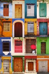 Doors of Cartagena de Indias, Colombia