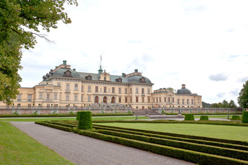 Drottningholms Palace in the Stockholm city