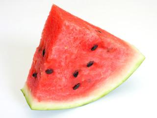 Watermelon with dry stem