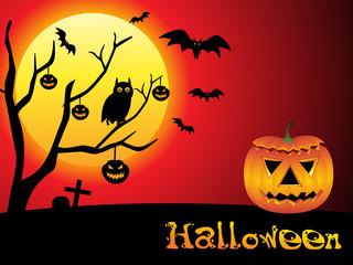 abstract halloween wallpaper
