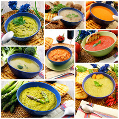 zuppe collage