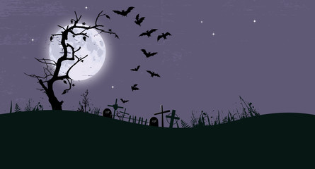 halloween background with place for your text