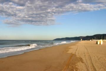 Playa Castelldefels en Barcelona