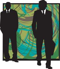Businessmen illustration