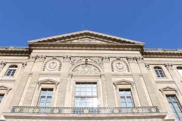Paris01-Palais-du-Louvre:Facade