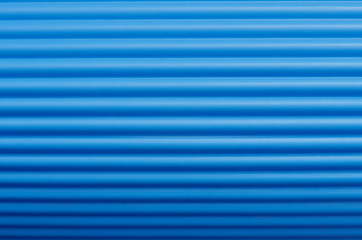 Corrugated plastic roll - background / texture