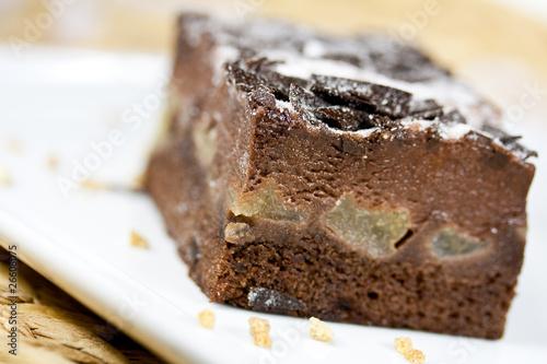 Schoko Birnen Kuchen Stockfotos Und Lizenzfreie Bilder Auf Fotolia