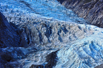 Franz Josef Glacier. South Island, New Zealand