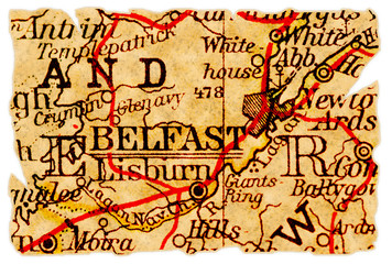 Belfast old map