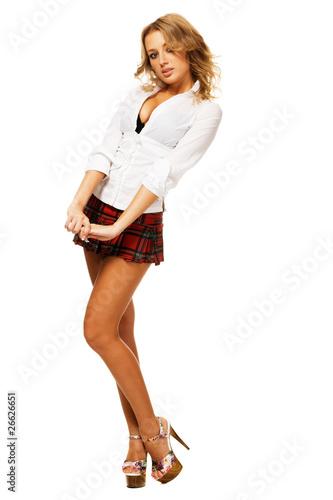 фотосессии девушек в юбках