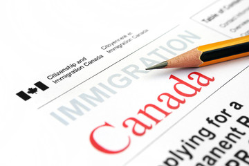 Printed roller blinds Canada Immigration form Canada