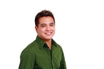 Smiling Asian Man