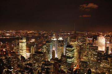 Night in New York City, Manhatan