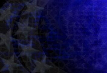 Dunkler Hintergrund mit Sternen