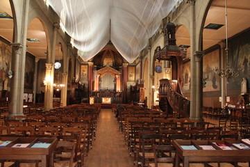 Paris10-Église-Saint-Martin-des-Champs:Nef