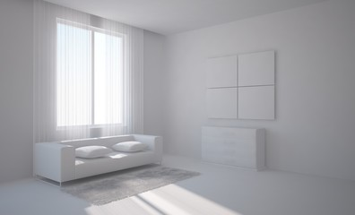 grey modern room