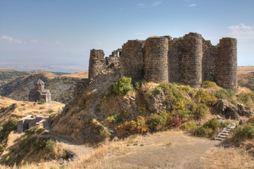 Amberd Fortress and Church in Armenia
