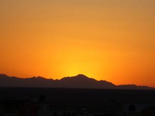 Закат в Египте